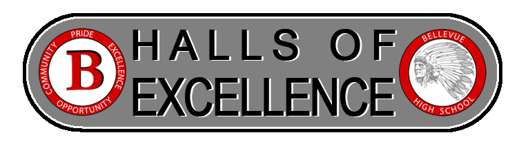 Halls of excellence logo
