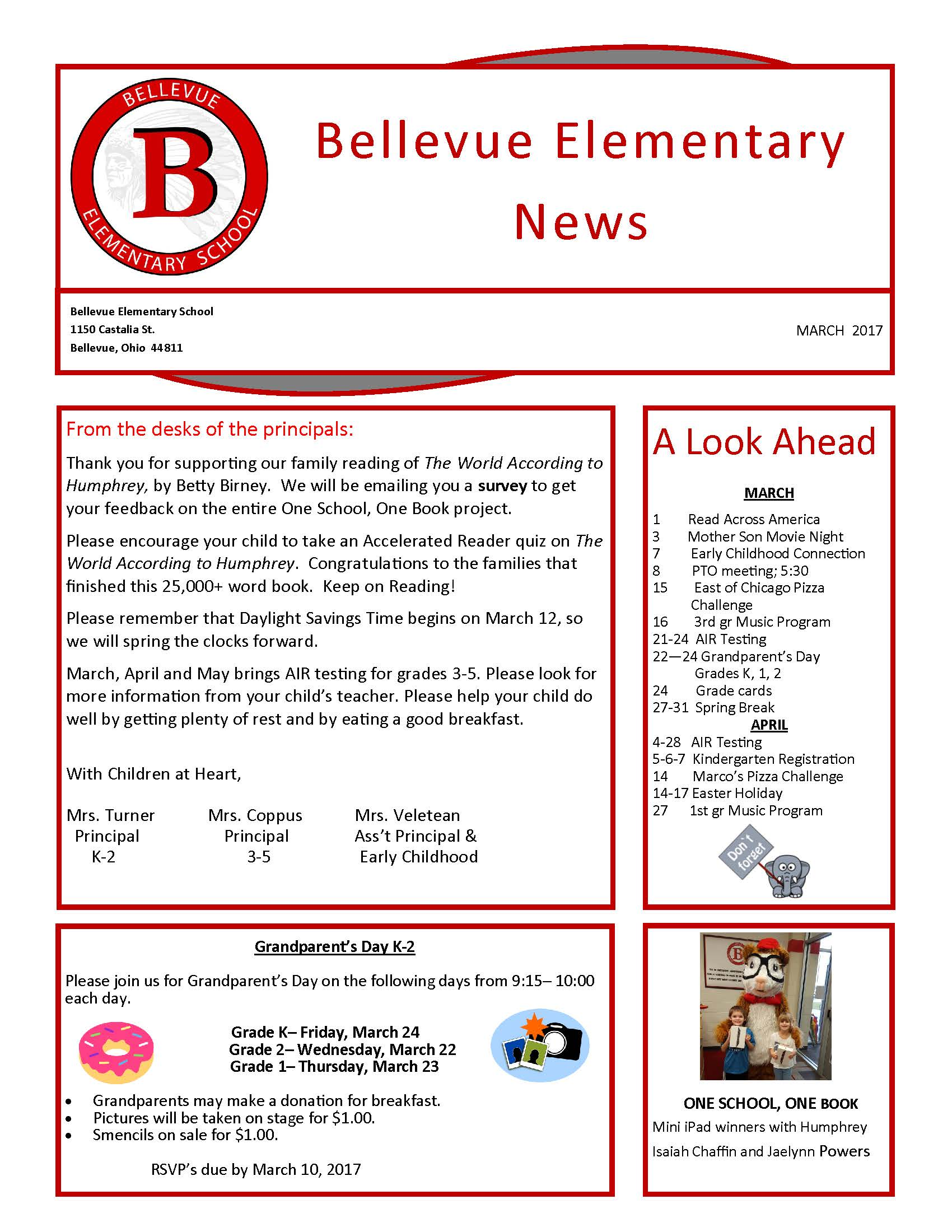BES March Newsletter