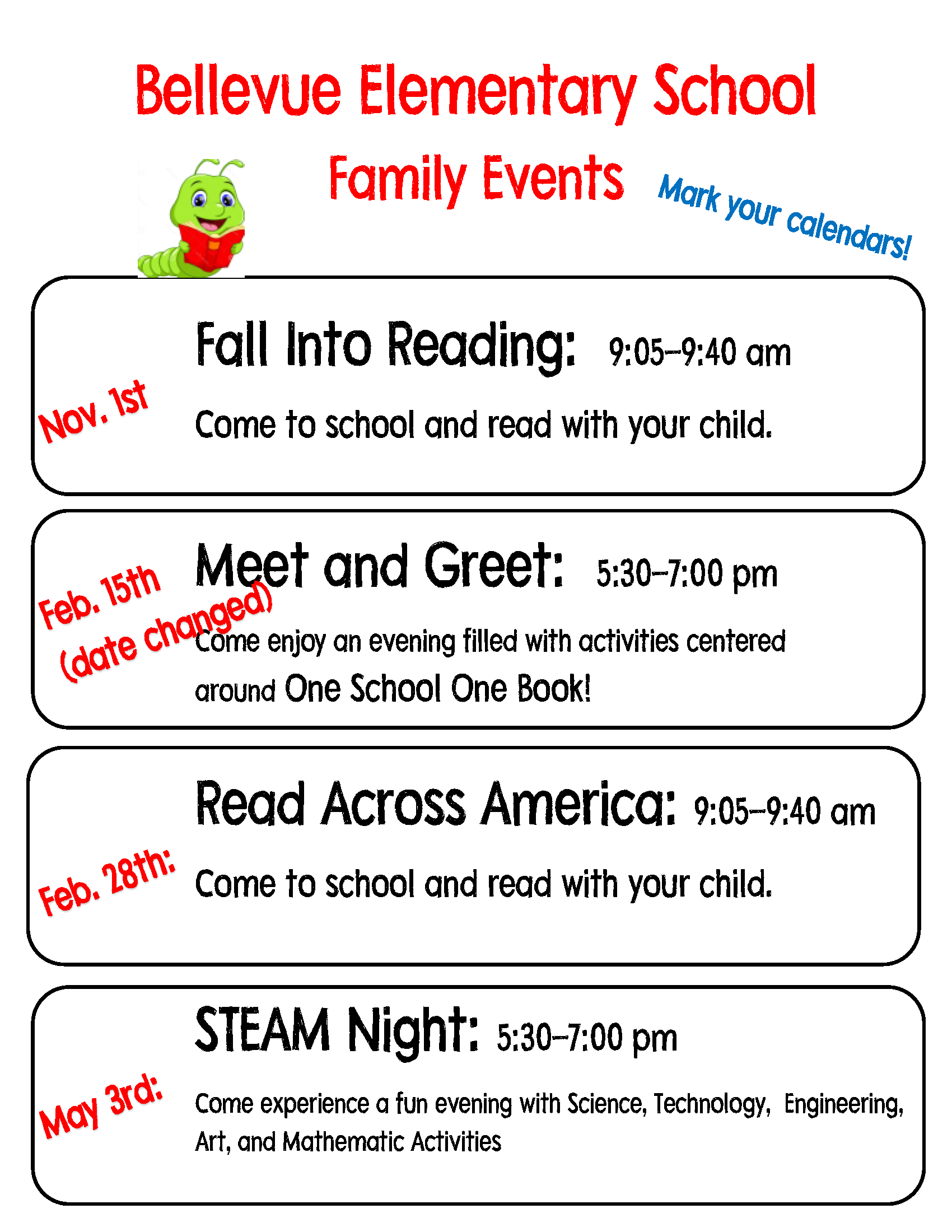 BES Family Events