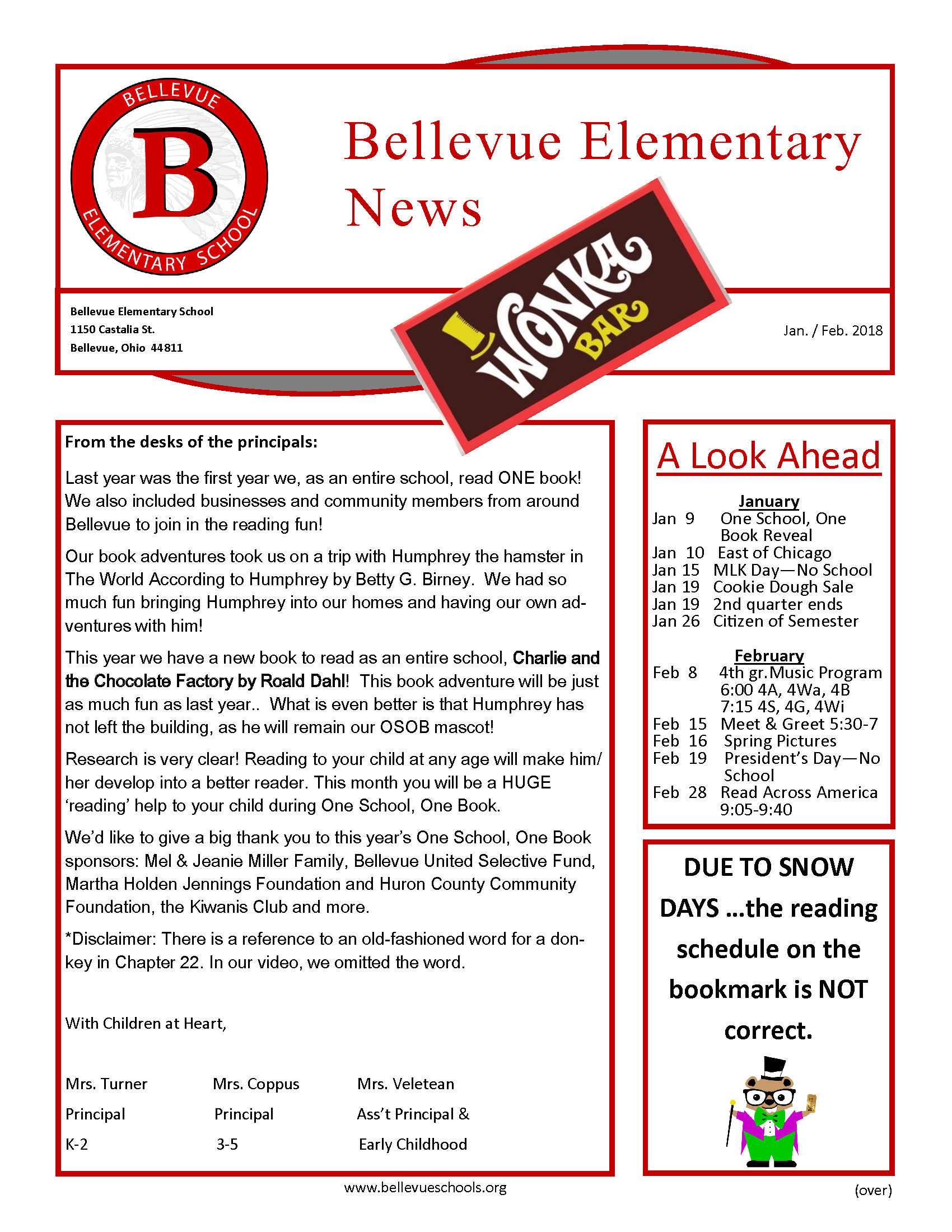 BES January Newsletter