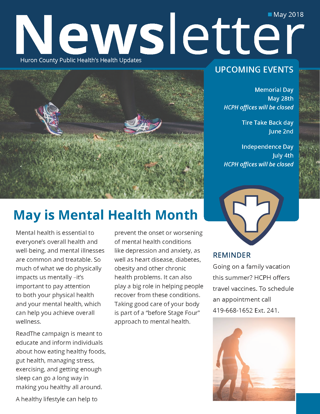 Huron county public Health Newsletter