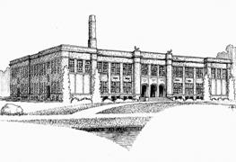 Sketch of the old Middle School