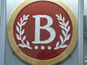 B logo from the old Middle School