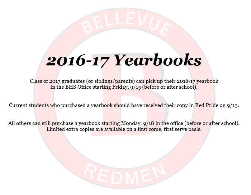 2016-17 Yearbooks